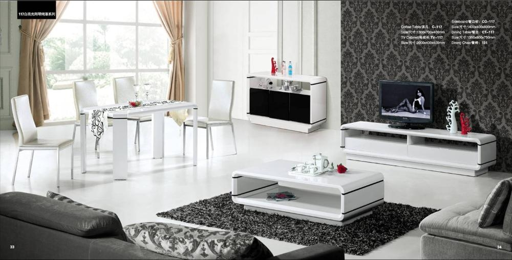Wonderful Fashionable Tv Cabinet And Coffee Table Sets Throughout Online Get Cheap Wooden Tv Tables Aliexpress Alibaba Group (View 37 of 40)