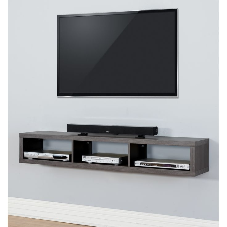 Wonderful Fashionable Wall Mounted TV Stands Entertainment Consoles Inside Top 25 Best Wall Mounted Tv Ideas On Pinterest Mounted Tv Decor (View 7 of 50)