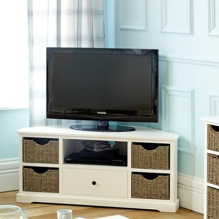 Wonderful Fashionable White Small Corner TV Stands Within Best 25 Small Corner Tv Stand Ideas On Pinterest Corner Tv (Image 44 of 50)