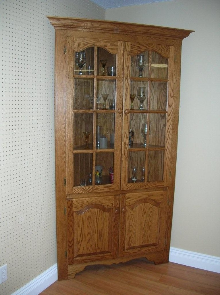 Wonderful Fashionable Wood Corner TV Cabinets In Tv Cabinets Corner Cabinet (View 33 of 50)