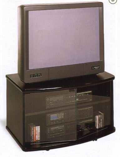 Featured Image of Black TV Stands With Glass Doors