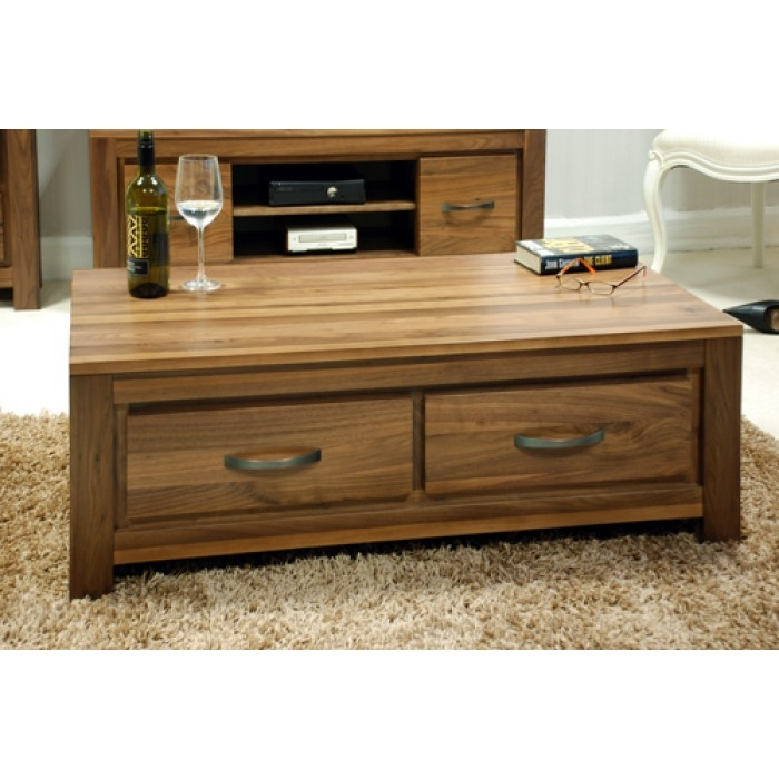 Wonderful Favorite Coffee Tables With Shelves Regarding Design Of Coffee Tables With Drawers Olde Mission Coffee Table (View 23 of 50)