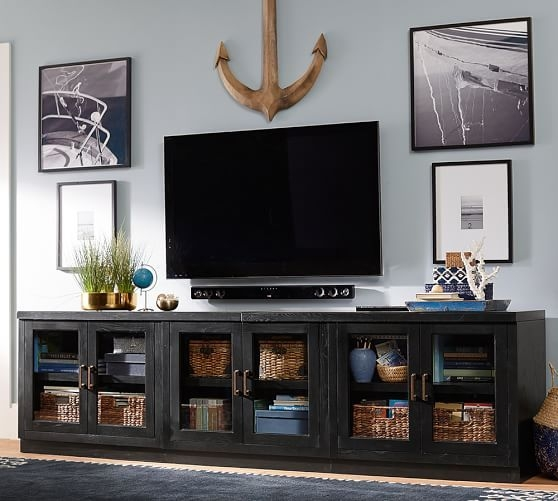 Wonderful Favorite Double TV Stands With Regard To Best 25 Black Glass Tv Stand Ideas On Pinterest Penthouse Tv (Image 49 of 50)
