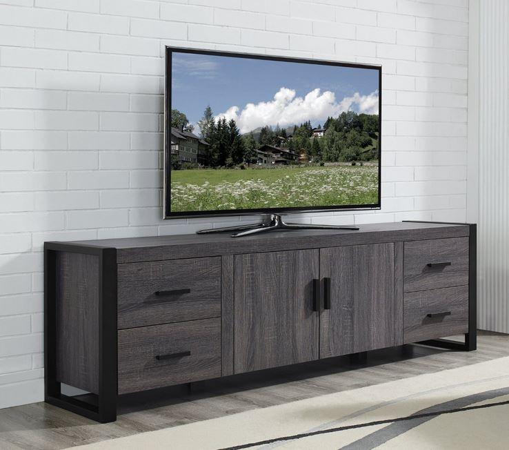 Wonderful Favorite Grey Wood TV Stands Inside Furniture Tv Stands Television Stands Tv Stands Entertainment (Image 48 of 50)