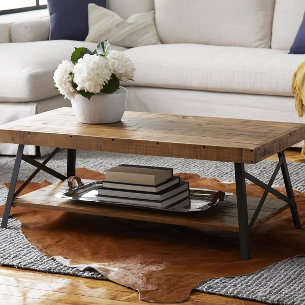 Wonderful Favorite Griffin Coffee Tables In Rustic Coffee Tables Youll Love Wayfair (View 36 of 50)