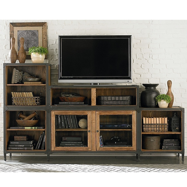 Wonderful Favorite Industrial Style TV Stands With Regard To Best 25 Bedroom Tv Stand Ideas On Pinterest Tv Wall Decor (View 13 of 50)