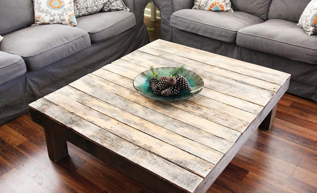 Wonderful Favorite Large Wood Coffee Tables Regarding Build Rustic Wood Coffee Table Tedxumkc Decoration (View 5 of 50)