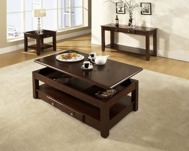 Wonderful Favorite Rising Coffee Tables Within Coffee Table Exciting Raising Coffee Table Design Ideas Raise Top (Image 45 of 50)
