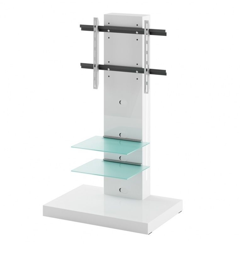 Wonderful Favorite TV Stands Cantilever In White Tv Stand (Image 46 of 50)