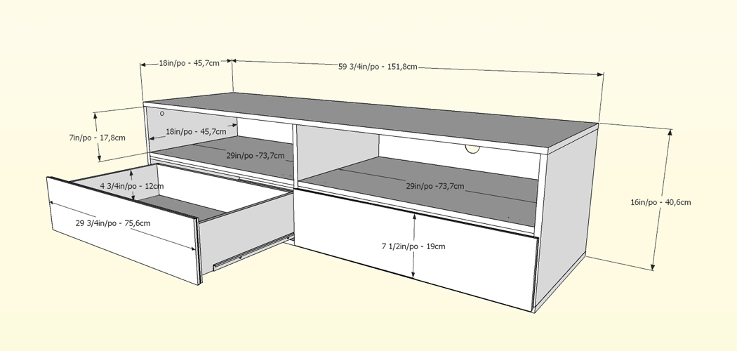 Wonderful Favorite TV Stands With Drawers And Shelves Intended For Nexera Allure 60 Inch Tv Stand 2 Open Shelves 2 Drawers Nx (Image 48 of 50)