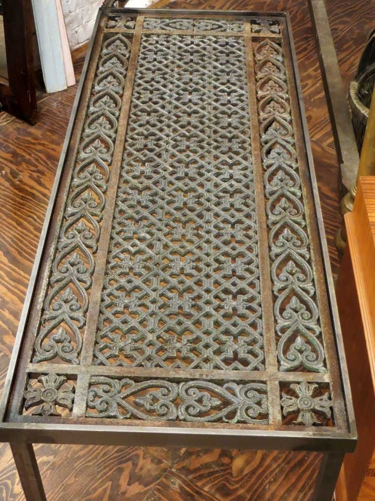 Wonderful Favorite Wrought Iron Coffee Tables With Regard To Best 25 Iron Coffee Table Ideas On Pinterest Glass Coffee (View 33 of 50)