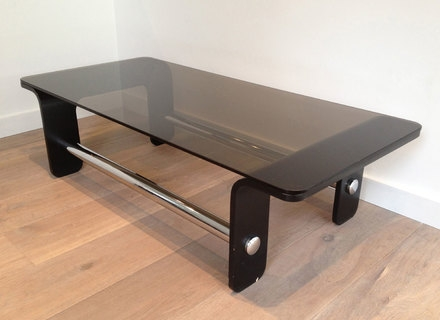 Wonderful High Quality Black Wood And Glass Coffee Tables Regarding Glass And Black Coffee Table Jerichomafjarproject (Image 46 of 49)