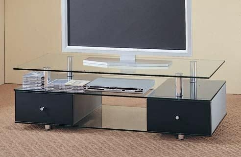 Wonderful High Quality Classy TV Stands Inside Contemporary Tv Stands Media Console Wglass Drawers The (View 3 of 50)