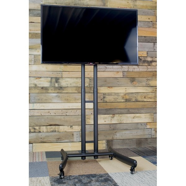 Wonderful High Quality Freestanding TV Stands Inside Floor Stand Tv Mounts Youll Love Wayfair (View 12 of 50)