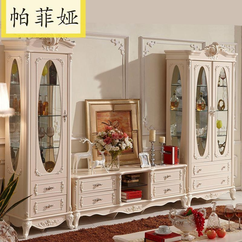Wonderful High Quality French TV Cabinets For 2017 Pafia French Furniture Cabinet Tv Cabinet Combination Jlw (Image 49 of 50)