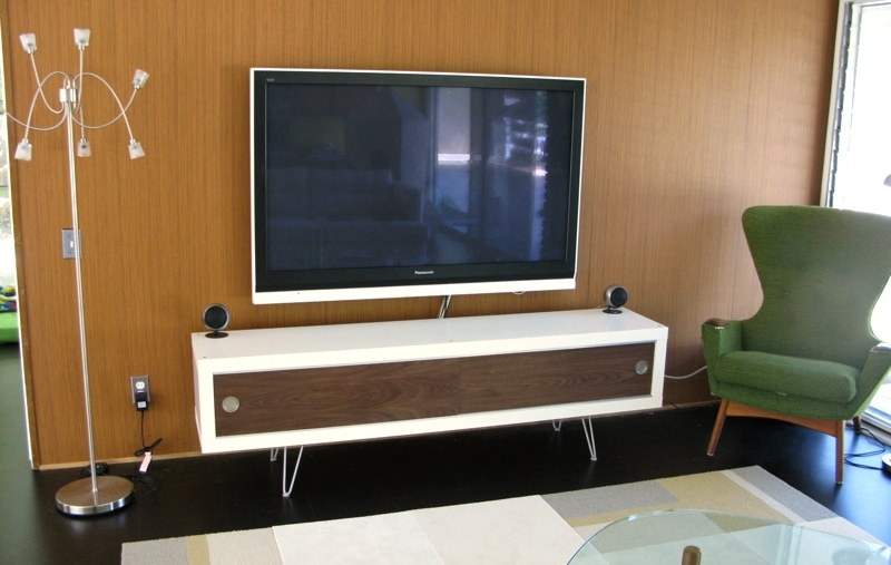 Wonderful High Quality Hairpin Leg TV Stands For Lack Retro Media Cabinet Ikea Hackers Ikea Hackers (Image 45 of 50)
