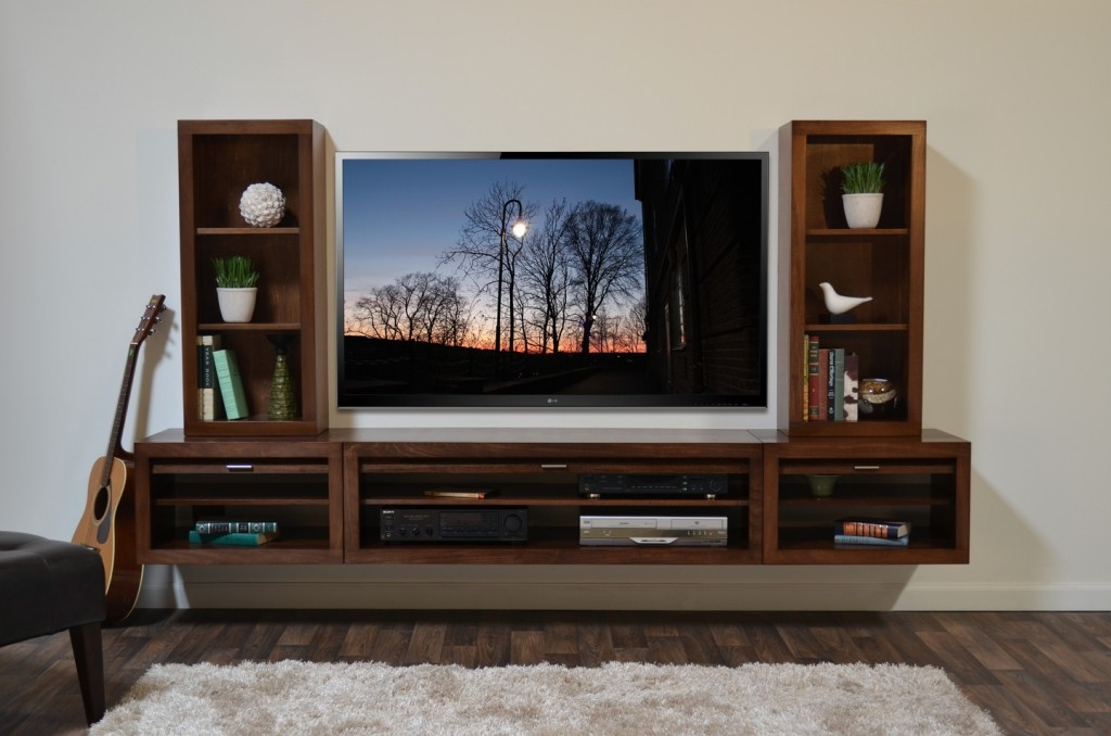 Wonderful High Quality Modern Wall Mount TV Stands Pertaining To Benefit Use Mid Century Modern Entertainment Center All Modern (Image 46 of 50)