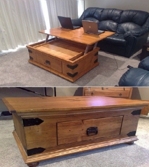 Wonderful High Quality Raise Up Coffee Tables In Coffee Tables That Raise Up Coffetable Throughout Pleasant (View 13 of 40)