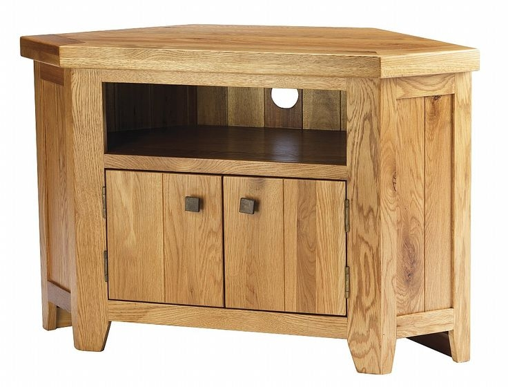 Wonderful High Quality Solid Oak Corner TV Cabinets With 82 Best Tv Stands Images On Pinterest Corner Tv Stands Corner (View 12 of 50)