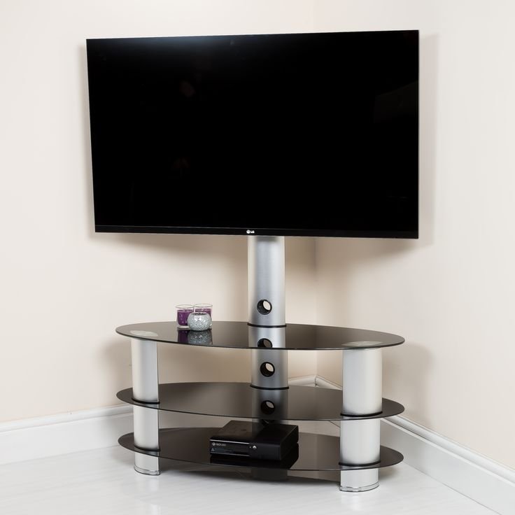 Wonderful High Quality Swivel Black Glass TV Stands Throughout Best 25 Modern Tv Stands Ideas On Pinterest Wall Tv Stand Lcd (Photo 38 of 50)