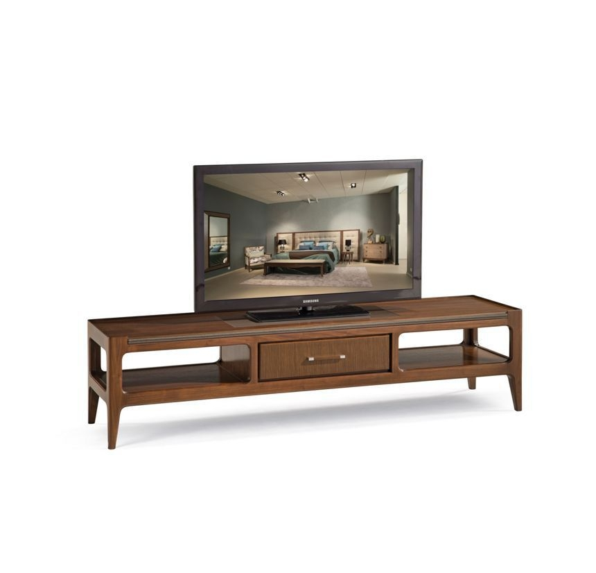 Wonderful High Quality Traditional TV Cabinets Throughout Traditional Tv Cabinet Oak Walnut Plywood Repertoire (Image 48 of 50)