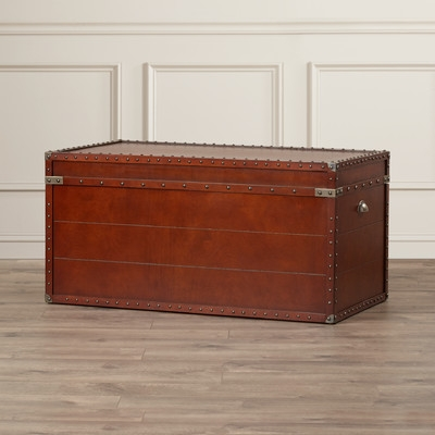 Wonderful High Quality Trunk Coffee Tables Regarding Three Posts Perth Trunk Coffee Table Reviews Wayfair (View 23 of 50)