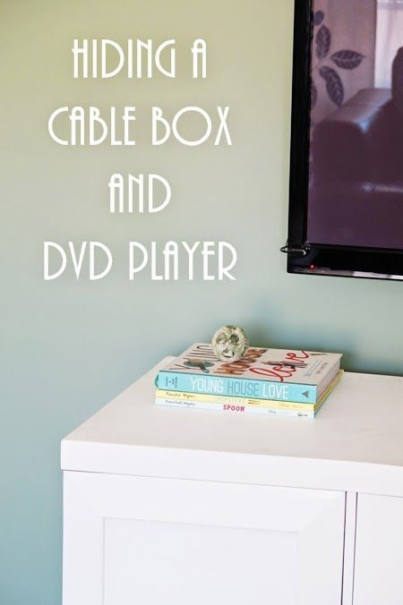 Wonderful High Quality TV Stands Over Cable Box For Best 25 Hide Cable Box Ideas Only On Pinterest Hiding Cable Box (Image 46 of 50)