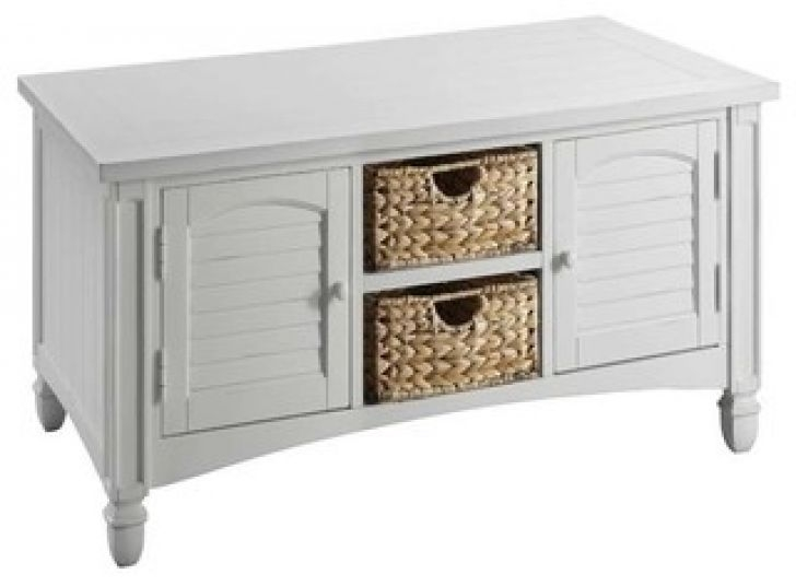 Wonderful High Quality White Cottage Style Coffee Tables Within Beach Cottage Trunk Coffee Table Biantable (Image 48 of 50)