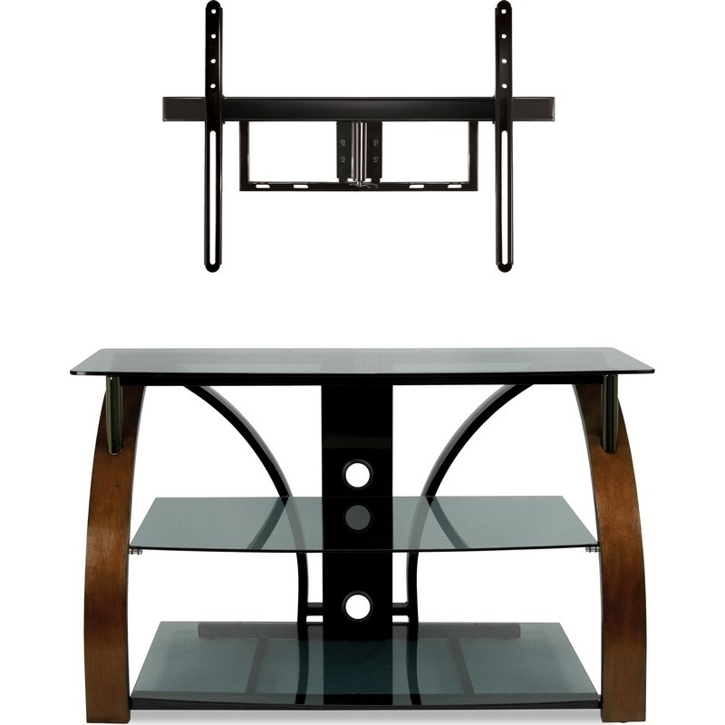 Wonderful Latest Bell'O Triple Play TV Stands With Regard To Classic Flame Tpc2143 Bell O 44 Triple Play Flat Panel A V Stand (View 11 of 50)