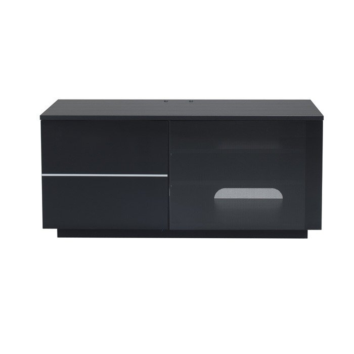 Wonderful Latest Black TV Cabinets Intended For Uk Cf New Paris Gloss Black Tv Cabinet Npar Blk (Image 50 of 50)