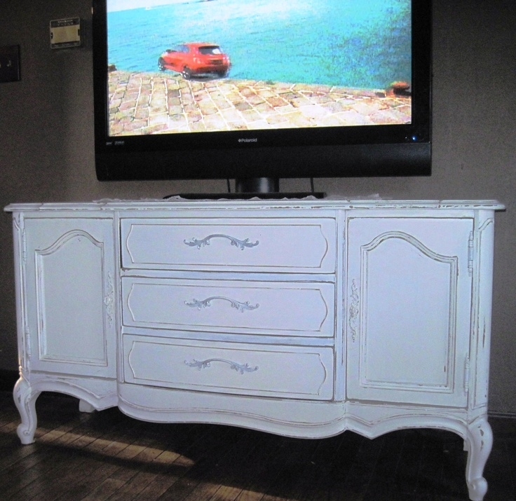 Wonderful Latest Blue TV Stands Throughout 26 Best Shab Chic Tv Stands Images On Pinterest Tv Stands (View 36 of 50)