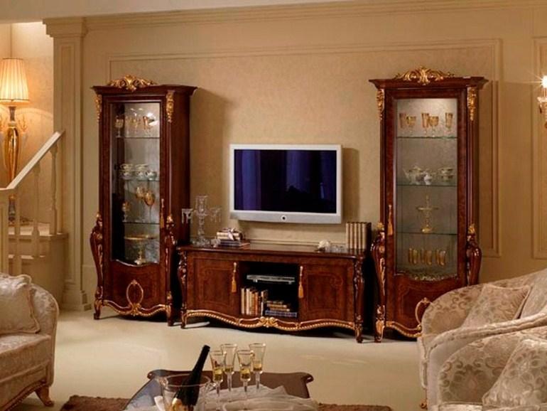 Wonderful Latest Classic TV Cabinets Inside Donatello Tv Cabinet Arredoclassic (Image 46 of 50)