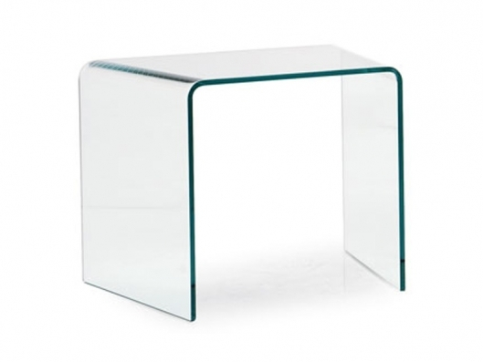 Wonderful Latest Curved Glass Coffee Tables Within Steward Curved Glass Coffee Table Cs5063 B Lupo Design Calligaris (Image 44 of 50)