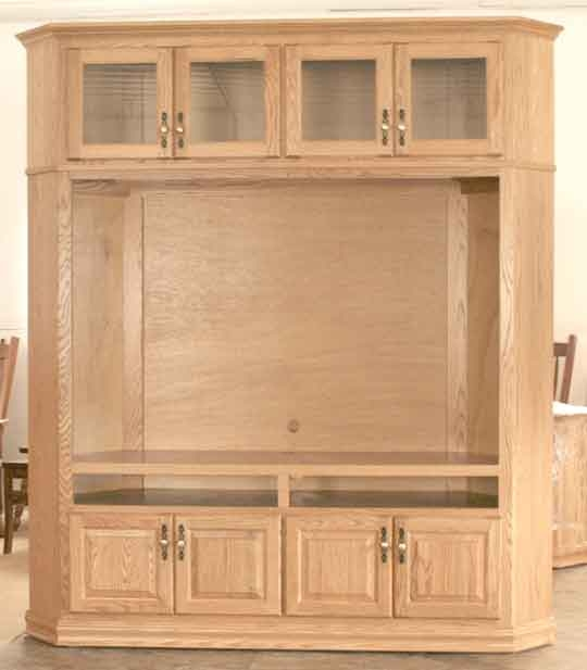 Wonderful Latest Large Corner TV Stands Within Corner Tv Stands Corner Tv Cabinets Clear Creek Amish (View 13 of 50)