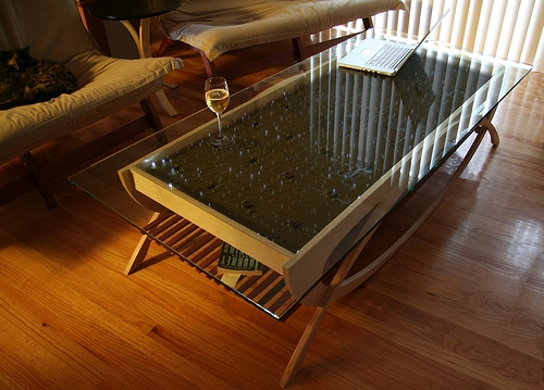 Wonderful Latest Led Coffee Tables Regarding Interactive Led Coffee Table The Wave Because We Can (Image 49 of 50)