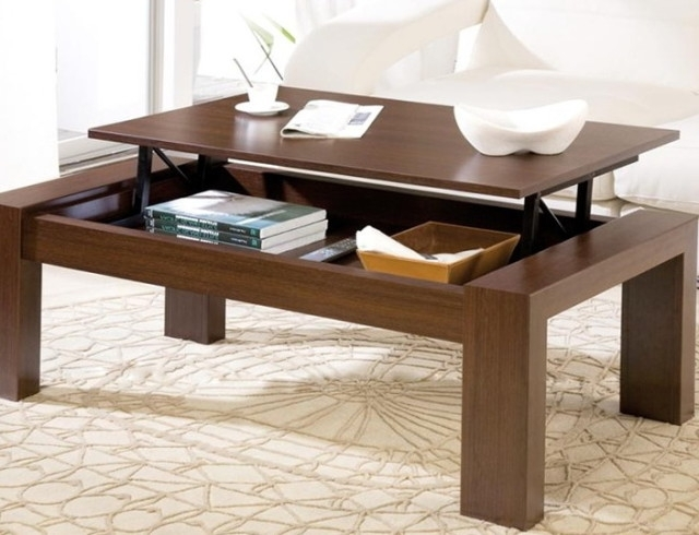 Wonderful Latest Lift Up Coffee Tables Pertaining To Captivating Coffee Table That Lifts Up As Well As Picturesque Lift (Image 47 of 50)