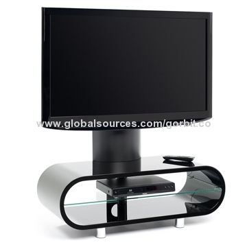 Wonderful Latest Ovid TV Stands Black Within Black Ovid Ov95tvb Tv Stand With Screen Supportbentwood High (Image 50 of 50)