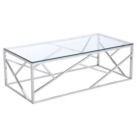 Wonderful Latest Rectangle Glass Coffee Table Within Geranium Glass Coffee Table (View 23 of 50)