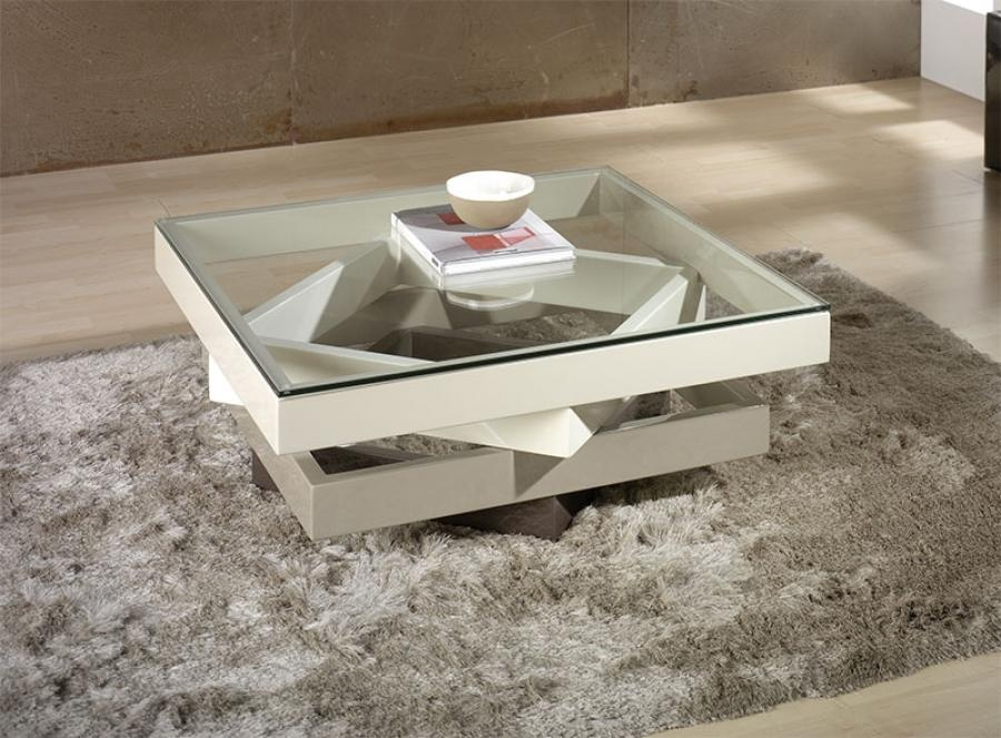 Wonderful Latest Round High Gloss Coffee Tables Regarding Cream Coffee Table (View 39 of 50)
