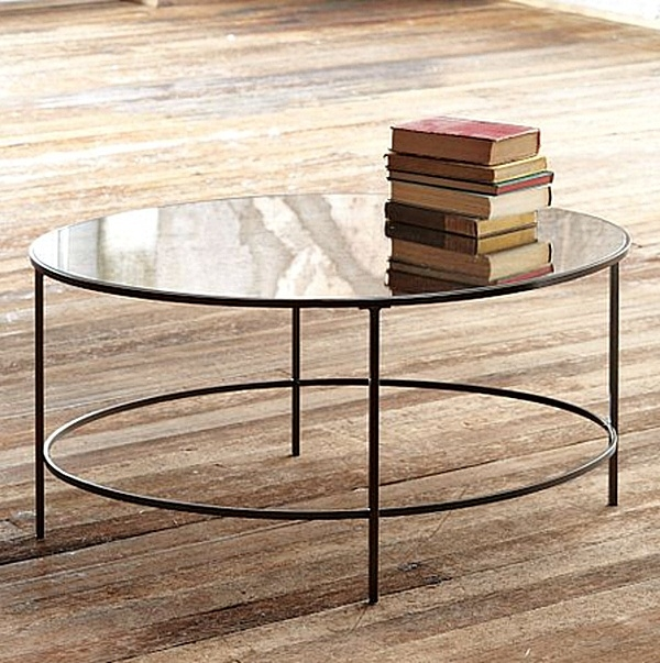 Wonderful Latest Small Mirrored Coffee Tables Intended For Mirrored Coffee Table Round (View 50 of 50)