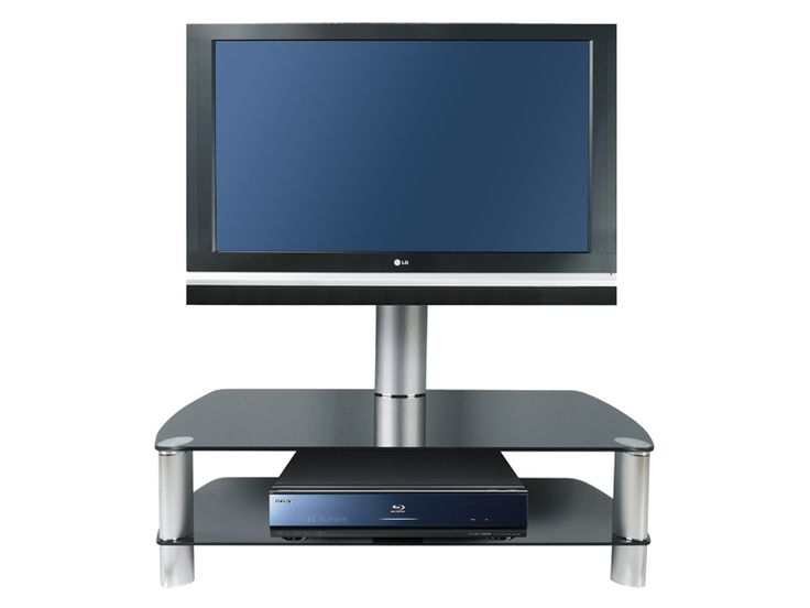 Featured Image of Swivel Black Glass TV Stands
