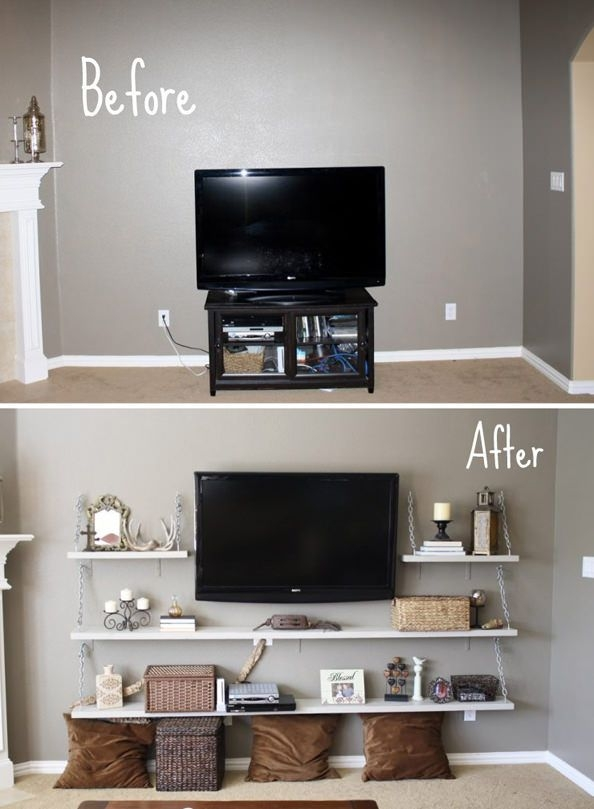 Wonderful Latest TV Stands For Small Rooms Intended For 45 Best Tv Stands Home Images On Pinterest Tv Walls Living (View 7 of 50)