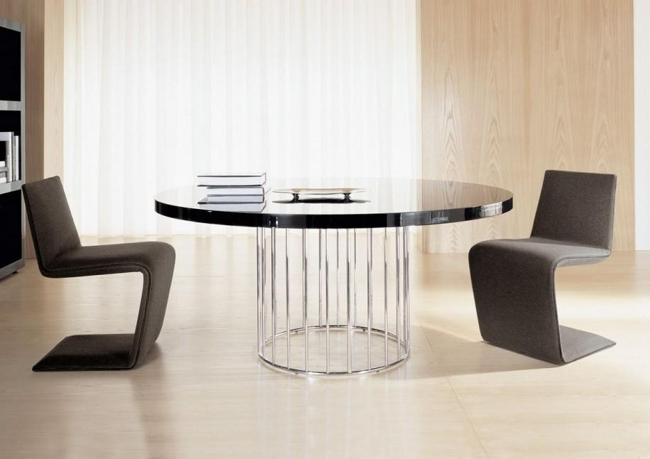 Wonderful Modern Round Dining Tables Vglet08Jpg | Clicpilot Pertaining To Circle Dining Tables (Image 20 of 20)