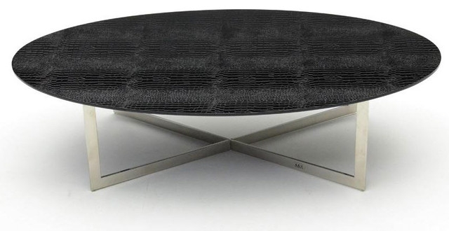 Wonderful New Black Oval Coffee Tables Throughout Modern Oval Coffee Table (View 28 of 40)