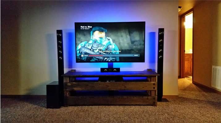 50 Ideas Of Easel Tv Stands For Flat Screens Tv Stand Ideas