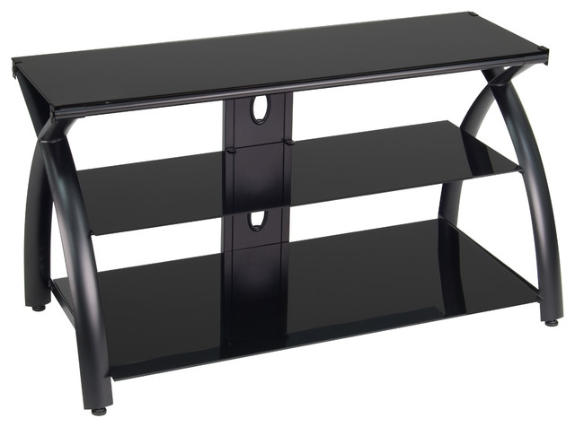 Wonderful New Glass TV Stands In Futura Tv Stand Modern Entertainment Centers And Tv Stands (View 29 of 50)