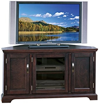 Wonderful New Industrial Corner TV Stands In Amazon Leick Riley Holliday Corner Tv Stand With Storage  (Image 50 of 50)