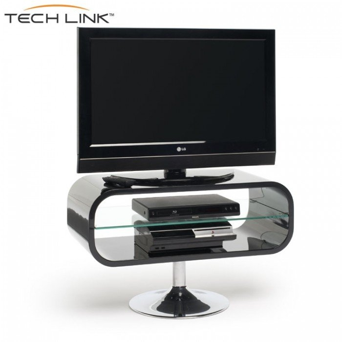 Wonderful New Opod TV Stands White Within Techlink Op80b Opod Gloss Black Tv Stand  (Image 50 of 50)