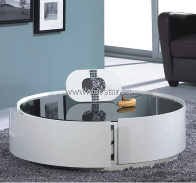 Wonderful New Round High Gloss Coffee Tables Regarding White High Gloss Round Coffee Table Starrkingschool (View 49 of 50)
