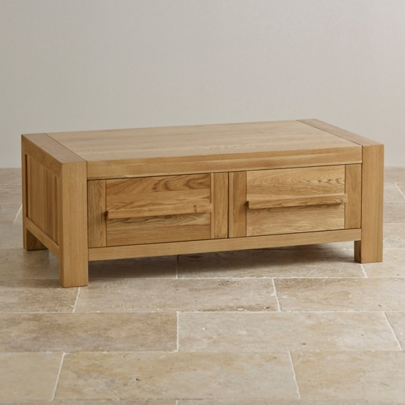 Wonderful New Solid Oak Coffee Table With Storage Pertaining To Solid Oak Coffee Table (Image 46 of 50)